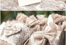 Wedding Favours / Ideas for wedding favours that your guests won't leave behind
