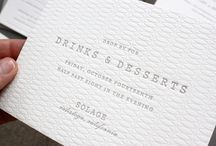 wedding invites / by Jessie Biondo