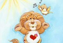 Care Bear Cousins   Brave Heart Lion / .