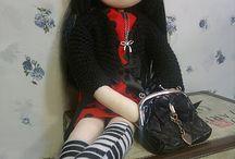 Muñecas hechas a mano / hermosas muñecas hechas a mano
