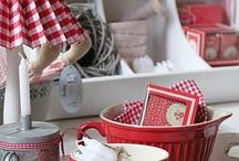 rot weiß deko