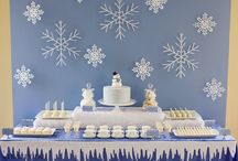 winter dessert table / by Red Carousel