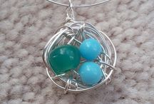Wire Jewelry / Exploring designs with bead and wire