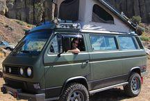 Camper vans and cool cars