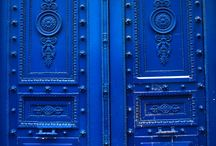 Blue Doors / All beautiful blue doors that inspire me and put a smile in my face!