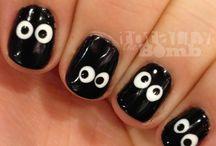 Unhas decoradas para Halloween / Seleção de unhas decoradas para o Halloween.