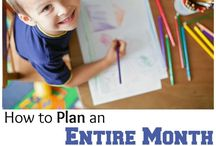 Tot School / Idea's of activities for toddlers that you can do at home! / by Glimmers of Learning