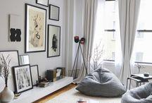 Sideboard in bedroom