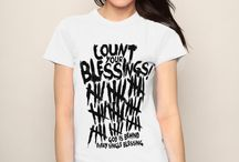 Women's Christian Tees / Spreading the word of God in fashionable and trendy way!