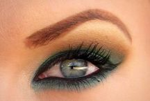 Eyes & lips Make 'm up! / by Laurie Hemm Fish
