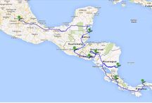 Mexico to Panama / planning a trip to Central America through Mexico, Belize, Guatemala, El Salvador, Honduras, Nicaragua, Costa Rica, Panama
