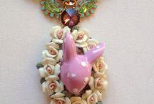Little rabits' necklaces / Collares otoño 2013