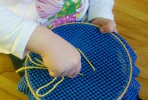 For F / Preschool age appropriate activities to keep F busy! :-) / by Mindy Jenkins