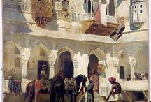 Orientalisme. Oriental inspired art through centuries / Visual material for Western Oriental art here