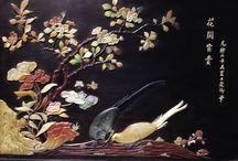 Urushi  Japan / Japanese Lacquer Work Japan Urushi Shikki Makie Chinkin Raden Craft  漆器 蒔絵 沈金 螺鈿 工芸