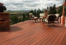 Fiberon Decking /  Instead of dealing the hassles of real wood, consider using Fiberon Composite Decking. Fiberon decking offers long-lasting beauty for your deck that is easy to maintain.