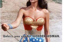 Wonder Woman! / by Rachel Abbott