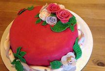 Rosen Torten / Rosen Kuchen