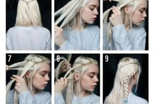 Targaryen braids