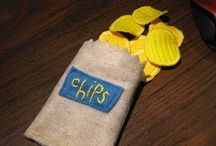 FELT real to me... / children's play food and toys made of felt / by Shelia Morris