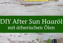 DIY Rezepte mit ätherischen Ölen / Hier findet ihr Rezepte zum Selbermischen von Aromatherapie & Naturkosmetik