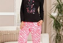 2014-2015 Bayan Pijama / 2014-2015 Sonbahar Kış Sezonu Bayan Pijama Modelleri