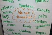 Kindergarten - Thanksgiving