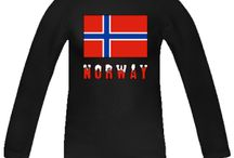 Norway from Auntie Shoe and Friends / Stuff about Norway. Most images on products designed by Auntie Shoe.