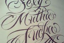 Tattoo Schriftzug