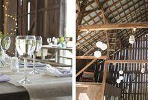 Wedding Ideas / Rustic Wedding/Event ideas