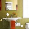 bright bath ideas / by Tamara White