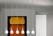 Lampe et suspensions