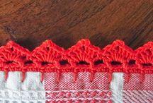 Crochet -Filet, Edges and Joins