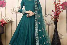2643 Aanaya 26000 Art silk Anarkali Salwar suit