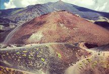 Etna / Monte Etna, Patrimonio dell'Umanità, complesso vulcanico siciliano originatosi nel Quaternario.