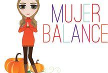 Mujer balance de la semana