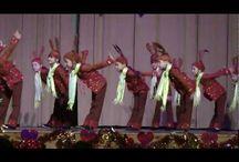 tanečky / dětské taneční vystoupení