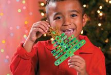 Kids' Christmas Craft Ideas / Let the kids get creative with these easy and fun Christmas craft ideas. Find a variety of kids' favorite crafts and DIY holiday projects they can make as handmade holiday decorations. Kids' crafts also make great gifts for friends and family.