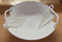Ceramics / Ceramic pottery ~ Sculptures ~ Reliefs ~ Clay ~ Porcelain