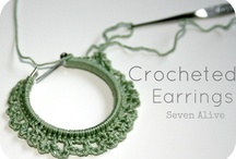 crocheted jewelery