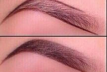All about eyebrows / Tips and tricks. How 2. Guide