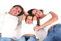 La gran familia / Retratos de familia en estudio.