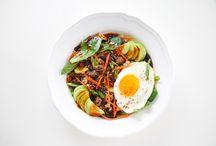 salad bibimbap