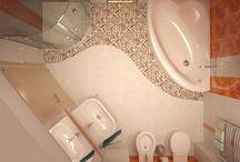 malé koupelny