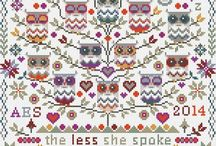 On AMAZON - Riverdrift Cross Stitch Sampler Kits / Our Counted Cross Stitch Kits currently available on Amazon.
