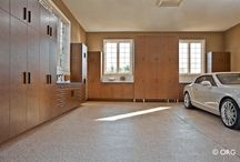 Garage Ideas / Encore is a full service garage designer and builder. From state of the art flooring to exquisitely desgned cabinets, Encore does it right