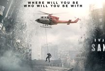 San Andreas / After the infamous San Andreas Fault finally gives, triggering a magnitude 9 earthquake in California, a search and rescue helicopter pilot (Dwayne Johnson) and his estranged wife make their way together from Los Angeles to San Francisco to save their only daughter.