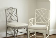 Chinese Chippendale Chairs / Chinese Chippendale Chairs, dining chairs, side chairs