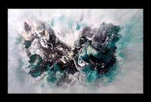 Akryl maling - video