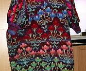 tricots / pulls écharpes / by monique Jullien